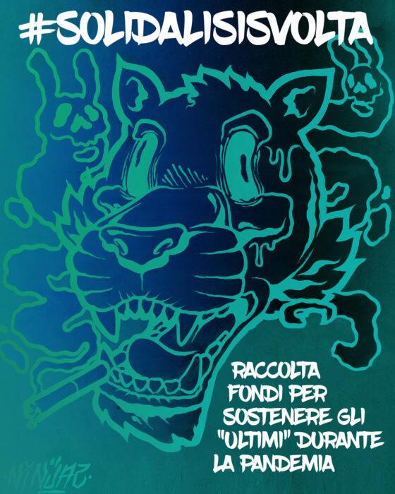 #solidalisisvolta, asta di Street Art e Tatoo promossa da CAT