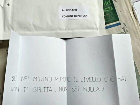 Pistoia: lettera minatoria contro sindaco, solidarietà, Giani, Anci e FdI