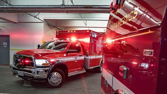 Ambulanze di Los Angeles non possono trasportare pazienti con scarse possibilità di sopravvivenza