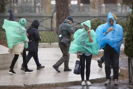Piogge e temporali, in Toscana allerta arancione per maltempo