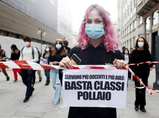 """🎧 Scuola: """"stop a precariato e classi pollaio"""""""