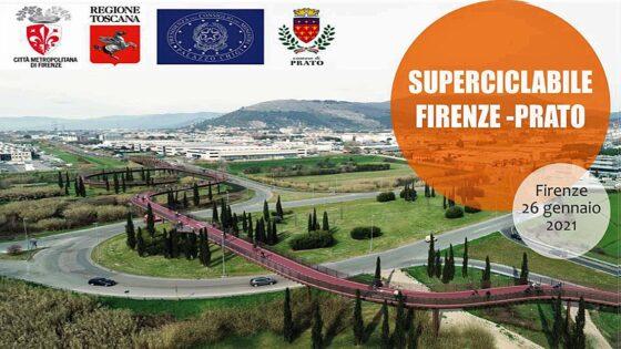 Superciclabile Firenze-Prato, 12 km a pedali in mezzora