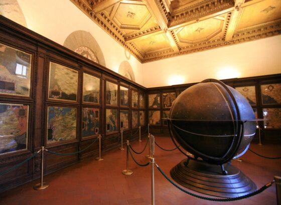 Al via il restauro della Sala delle carte geografiche e del mappamondo