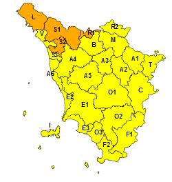 Il 6 gennaio codice arancione per neve sul nord-ovest