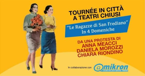 'Tournèe in città a teatri chiusi', protesta Morozzi, Meacci, Riondino