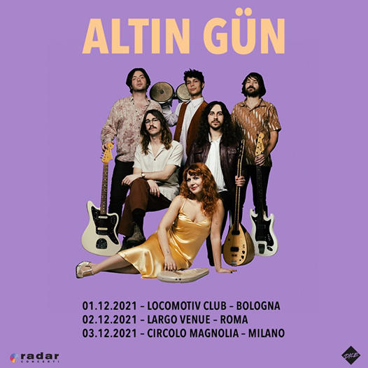 Altın Gün: nuovo album e tre date italiane