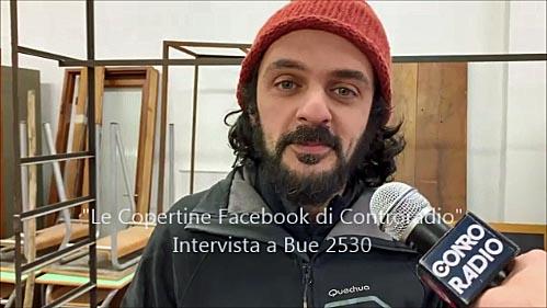 Bue 2530, intervista all'artista di alcune 'Copertine'