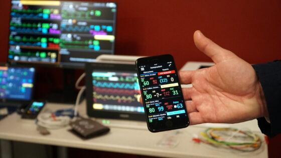 Covid, alSantaMariaNuovaarrivalosmartphone che monitora i pazienti