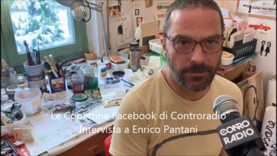 Enrico Pantani, intervista all'artista di alcune 'Copertine'