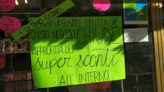 Lavoro: Cgil, chiude negozio alta moda a Firenze