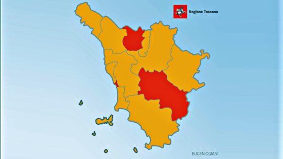 Giani conferma le zone rosse in Toscana e arrivano meno vaccini