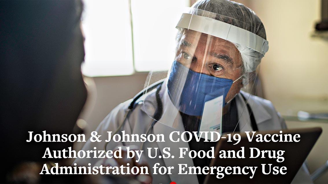 Vaccino Johnson & Johnson