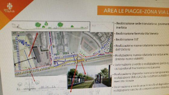 Presentato progetto definitivo tramvia 4.1 Leopolda-Piagge verso Campi Bisenzio