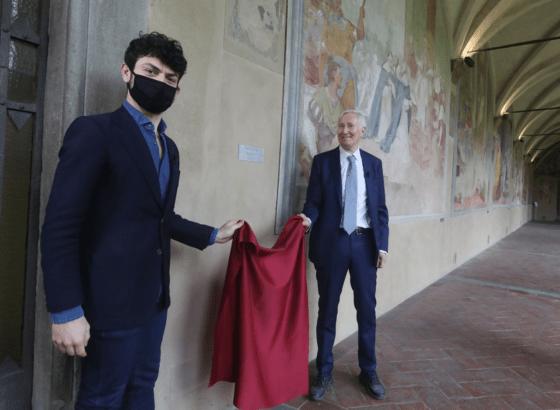 Restaurate le lunette del Chiostro Grande di Santa Maria Novella