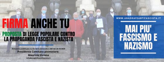 """Legge Antifascista Stazzema: """"Superato l'obiettivo delle 50mila firme"""""""