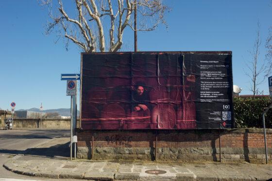 Covid:  in piazza Gaddi l'immagine della 'resistenza' della cultura