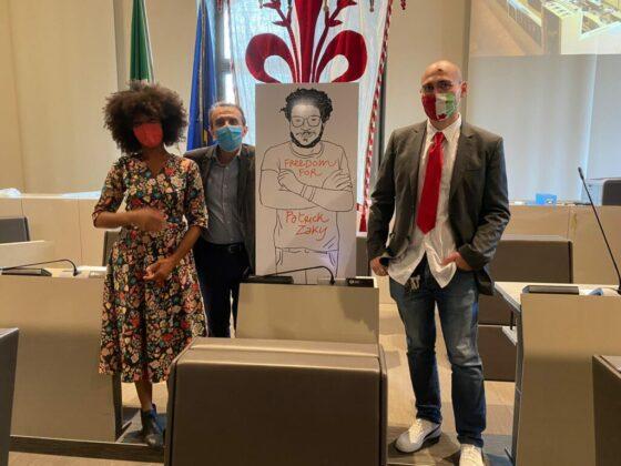 Cittadinanza onoraria per Zaki:  Sì, all'unanimità, del Consiglio comunale di Firenze
