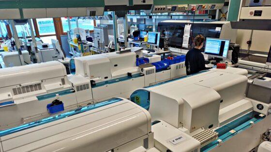 Corelab, nuovo laboratorio alta automazione del Meyer