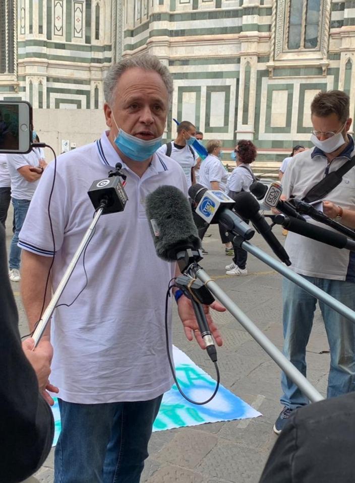 Giampaolo Giannoni, segretario Nursind Toscana