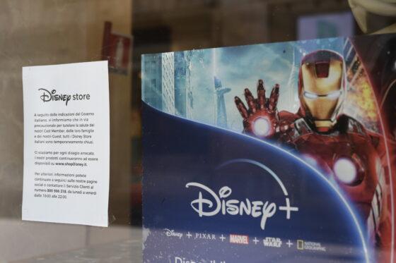 Disney Store dismette i negozi, a Firenze 15 addetti senza più lavoro.