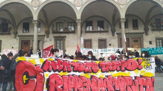 """Sciopero scuola: """"Dad: disagio a distanza"""", manifestazione anche a Firenze"""