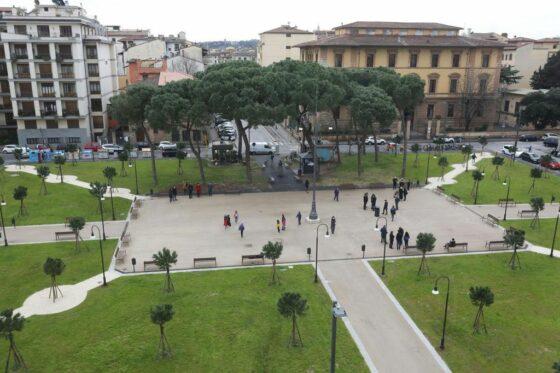 Firenze, rinasce piazza della Vittoria: completati i lavori di riqualificazione