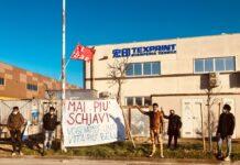 sciopero Texprint Prato