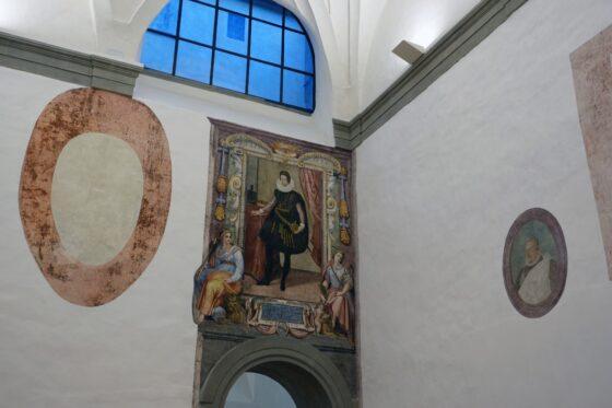 Gallerie degli Uffizi: recuperati 2000 mq di spazi con affreschi perduti