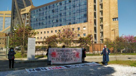 """Processo Martina Rossi, presidio NUDM""""Credere a Martina e alle donne che denunciano violenza"""","""