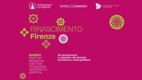 🎧 'Rinascimento Firenze', il quarto bando a sostegno alle attività danneggiate dalla crisi dovuta al Covid-19