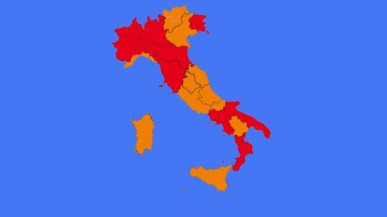Zona rossa per la Toscana per almeno altri 15 giorni
