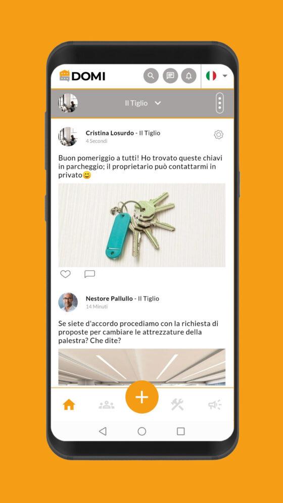 🎧 Nasce Domi, il primo social network dedicato ai condomini