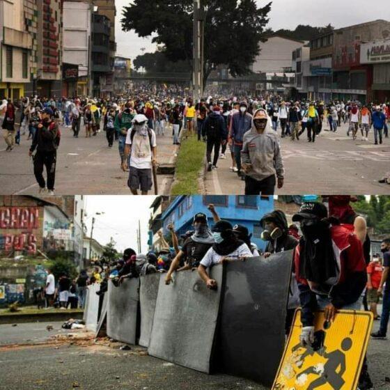 """🎧Colombia, """"Governo reprime le proteste con pallottole e mezzi blindati"""",testimonianza"""