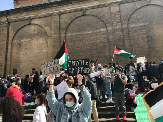 In mille a manifestazione per palestinesi a Firenze