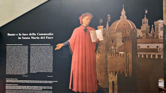 Ritratto di Dante nella Cattedrale di Firenze