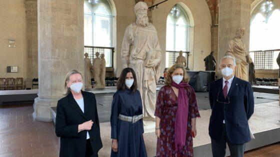 🎧 Orsanmichele, terminato il restauro del San Marco di Donatello
