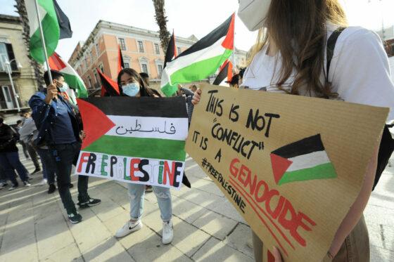 Presidi per la Palestina oggi pomeriggio in Toscana