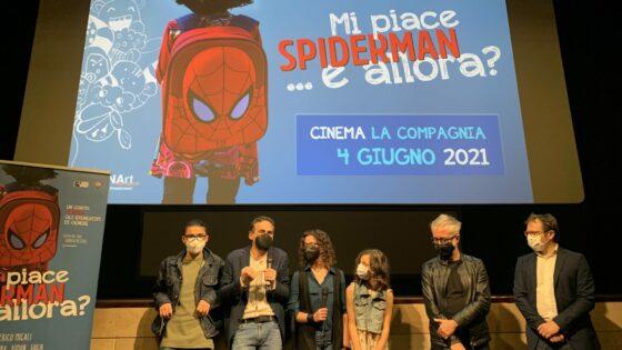 🎧 Cinema La Compagnia: 'Mi piace Spiderman e allora?'