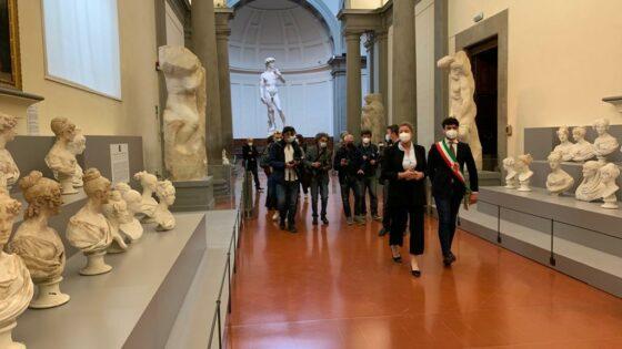 🎧 L'Accademia riapre con un nuovo percorso con più opere in bella vista