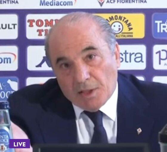 🎧 Fiorentina: Commisso attacca la stampa e annuncia 'cartellini rossi' per alcuni giornalisti. La condanna di Assostampa