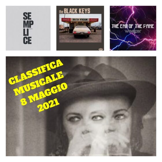 La Classifica Musicale di Controradio. Sabato 8 maggio 2021