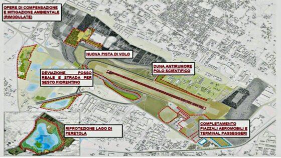 🎧 Ripartenza anche per l'aeroporto di Firenze: prima il nuovo terminal passeggeri e poi la nuova pista di volo parallela convergente