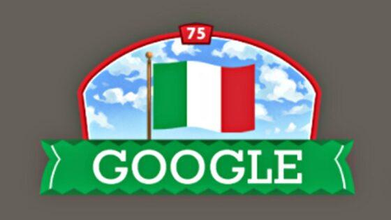 Festa della Repubblica, niente parata, niente manifestazione, ma c'è il Doodle di Google