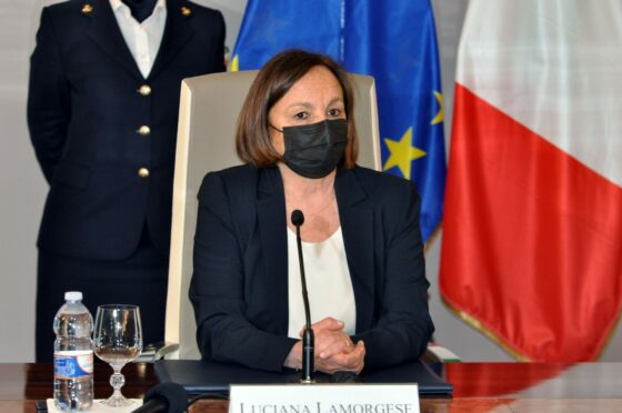 Sicurezza e ripresa: la ministra Lamorgese oggi a Firenze