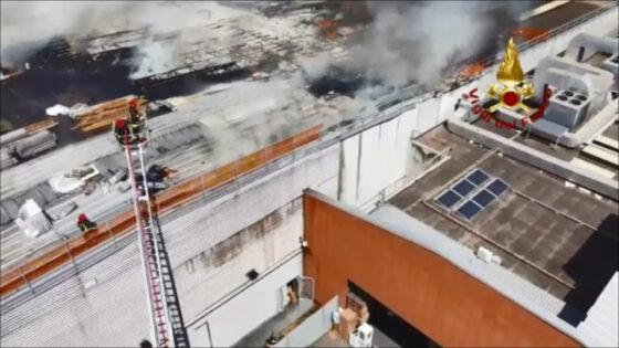 Coop: prime valutazioni Arpat inquinamento ambientale incendio
