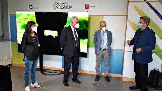 Il Consorzio LaMMA ha una nuova sala meteo