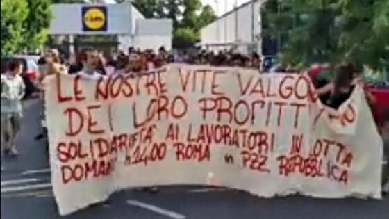 🎧 Sindacalista dei Si Cobas investito e ucciso, manifestazione a Firenze