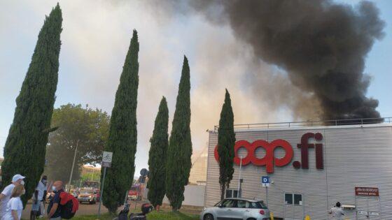 Coop, incendio: operai sentiti in procura