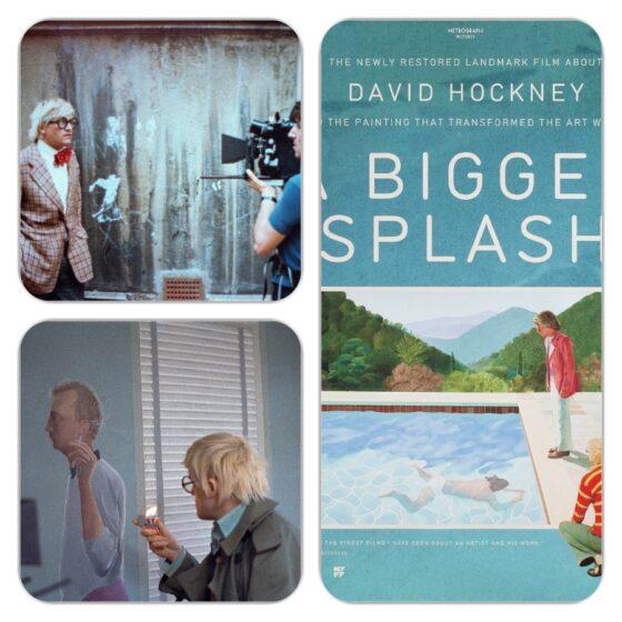 """Lo schermo dell'arte presenta """"A Bigger Splash"""""""