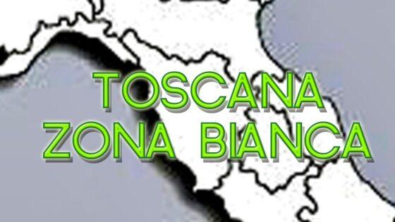 🎧 Zona Bianca la Toscana ed il resto d'Italia, tranne la Val d'Aosta, da lunedì